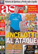 Portada diario AS del 21 de Julio de 2013
