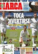 Portada diario Marca del 21 de Julio de 2013