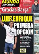 Portada Mundo Deportivo del 21 de Julio de 2013