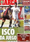 Portada diario Marca del 22 de Julio de 2013