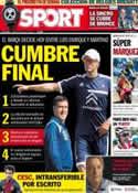 Portada diario Sport del 22 de Julio de 2013