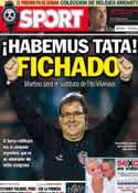 Portada diario Sport del 23 de Julio de 2013