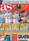 Portada diario AS del 24 de Julio de 2013