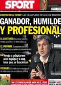 Portada diario Sport del 24 de Julio de 2013
