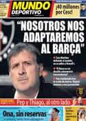 Portada Mundo Deportivo del 24 de Julio de 2013
