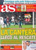 Portada diario AS del 25 de Julio de 2013
