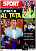 Portada diario Sport del 25 de Julio de 2013