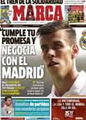 Portada diario Marca del 26 de Julio de 2013