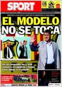 Portada diario Sport del 26 de Julio de 2013