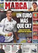 Portada diario Marca del 27 de Julio de 2013