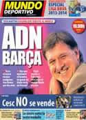 Portada Mundo Deportivo del 27 de Julio de 2013