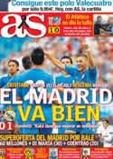 Portada diario AS del 28 de Julio de 2013