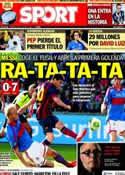 Portada diario Sport del 28 de Julio de 2013