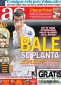 Portada diario AS del 29 de Julio de 2013