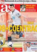 Portada diario AS del 30 de Julio de 2013