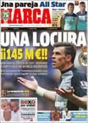 Portada diario Marca del 30 de Julio de 2013