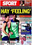 Portada diario Sport del 30 de Julio de 2013