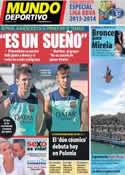 Portada Mundo Deportivo del 30 de Julio de 2013