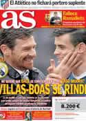 Portada diario AS del 31 de Julio de 2013