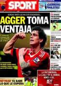 Portada diario Sport del 1 de Agosto de 2013
