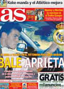 Portada diario AS del 2 de Agosto de 2013