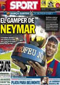 Portada diario Sport del 2 de Agosto de 2013