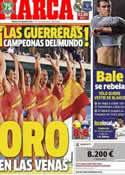 Portada diario Marca del 3 de Agosto de 2013