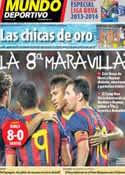 Portada Mundo Deportivo del 3 de Agosto de 2013