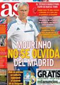Portada diario AS del 4 de Agosto de 2013