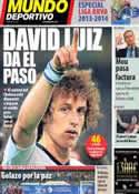 Portada Mundo Deportivo del 4 de Agosto de 2013