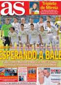 Portada diario AS del 5 de Agosto de 2013