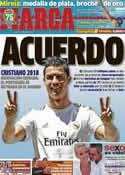 Portada diario Marca del 5 de Agosto de 2013