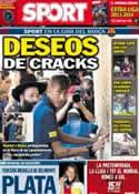 Portada diario Sport del 5 de Agosto de 2013