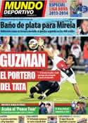Portada Mundo Deportivo del 5 de Agosto de 2013