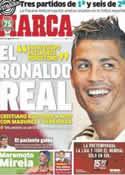 Portada diario Marca del 6 de Agosto de 2013