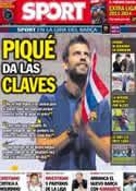 Portada diario Sport del 6 de Agosto de 2013