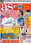 Portada diario AS del 7 de Agosto de 2013