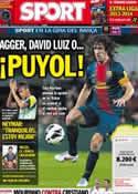 Portada diario Sport del 7 de Agosto de 2013