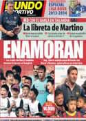Portada Mundo Deportivo del 7 de Agosto de 2013