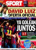 Portada diario Sport del 8 de Agosto de 2013
