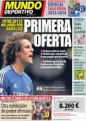 Portada Mundo Deportivo del 8 de Agosto de 2013