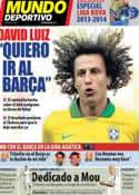 Portada Mundo Deportivo del 9 de Agosto de 2013