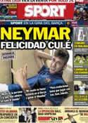 Portada diario Sport del 10 de Agosto de 2013