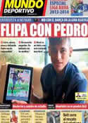 Portada Mundo Deportivo del 10 de Agosto de 2013