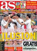 Portada diario AS del 11 de Agosto de 2013