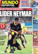 Portada Mundo Deportivo del 11 de Agosto de 2013