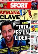Portada diario Sport del 12 de Agosto de 2013
