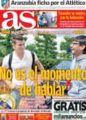 Portada diario AS del 13 de Agosto de 2013
