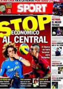 Portada diario Sport del 13 de Agosto de 2013