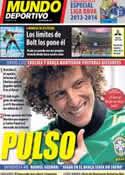 Portada Mundo Deportivo del 13 de Agosto de 2013